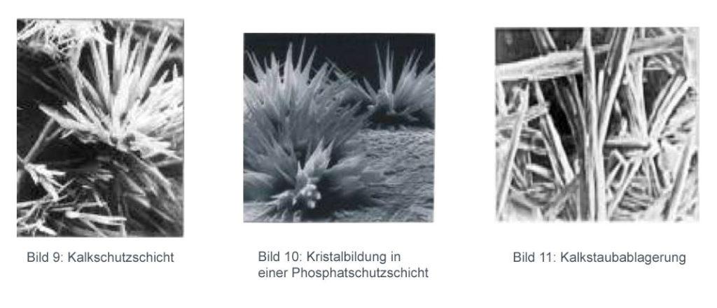 Kalkschutzschicht-Phosphatschutzschicht-Kalkablagerung